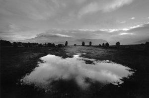 B/W Landscape photo