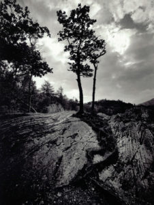 Black and White Landscape photograph